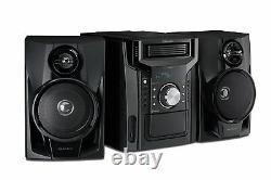 Sharp 240W 5-Disc Mini Shelf Audio Speaker Bluetooth & Cassette Player CDBH950