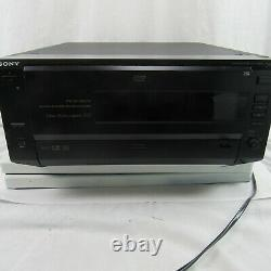 Sony 200 Disc DVD CD Explorer Changer Player DVP-CX850D TESTED