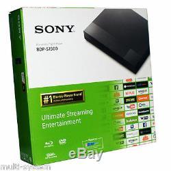 Sony Bdp-s1700 All Region Free Blu-ray DVD Player Zone A, B, C & DVD 0-9