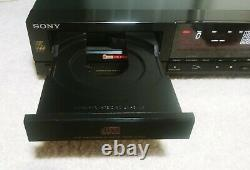 Sony CDP-307ESD Stereo CD Compact Disc Player with Remote Vintage, Rare