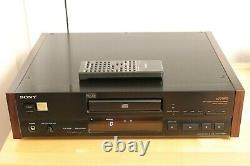 Sony CDP-X779 ES High-End CD Player SWOBODA Modifikation GUTER ZUSTAND