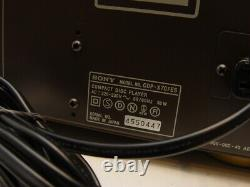 Sony Cdp-x707es Esprit Cd-player + Fernbedienung + Anleitung
