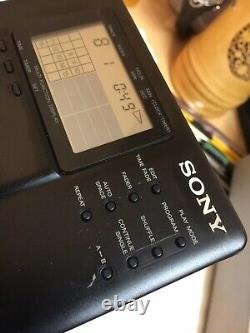 Sony Discman D-350 CD Portable Player With Case Working Vintage Collector Serie