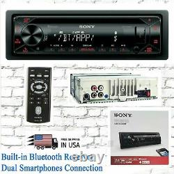 Sony MEX-N4300BT Single DIN Bluetooth AM FM USB AUX CD Player Car Radio Receiver