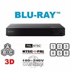 Sony S6700 Region Free DVD and Blu-Ray Disc Player- 4K upscalling 3D WiFi