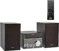Sony Stereo Sound System 50W, 1DVD, BT, FM, USB, CMTSBT40D Hi-Fi System, deck