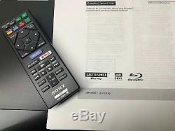 Sony UBP-X700 4K Blu-ray Player HDR10, with Dolby Vision OVER 100 SOLD