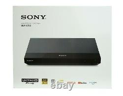 Sony UBP-X700 HDR 4k Ultra HD Blu-ray DVD Disc Player with Dolby Vision in Black