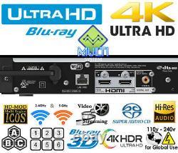 Sony Ubp-x800m2 4k Uhd All Region Free Blu-ray DVD Player Zone A, B, C & DVD 0-9