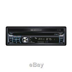 Soundstream 1 Din VR-720B-C DVD/CD Player Flip Up 7 LCD Bluetooth SD USB AUX