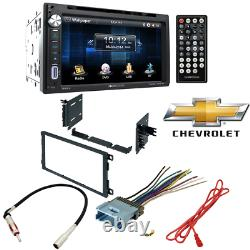 Soundstream 2 DIN Unit w 6.5Touch Screen With Car Radio Stereo CD Player Dash Kit