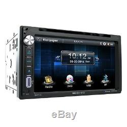 Soundstream Double Din VR-651B DVD/CD/MP3 Player 6.5 LCD Display Bluetooth New