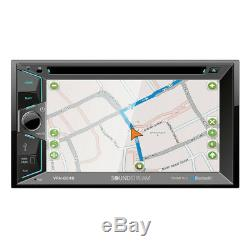 Soundstream VRN-624B DVD/CD/MP3 Player 6.2 Touchscreen GPS Navigation Bluetooth