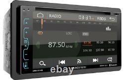 Soundstream VRN-65HB DVD/CD/MP3 Player 6.2 Touchscreen Navigation GPS Bluetooth