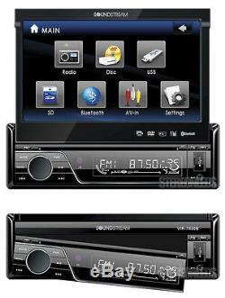 Soundstream Vir-7830b 7 Touch Screen Monitor Blutooth Car Dvd/cd/mp3/usb Player