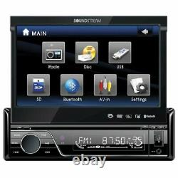 Soundstream Vir-7830b 7 Touch Screen Monitor Blutooth Car Dvd/usb/cd/mp3 Player