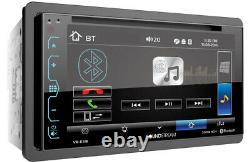 Soundstream Vr-65b 2-din 6.2 Touchscreen LCD CD DVD Usb Player Bluetooth Stereo