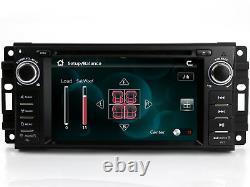 Stereo Radio Car CD DVD Player GPS Navigation For Dodge Grand Caravan 2008-2019