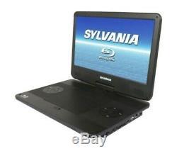 Sylvania 13.3 Portable Blu-ray Player with Swivel Screen Black SDVD1336