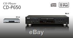 TEAC CD Player with CD to USB Recorder And IPod & MP3 Player Connection