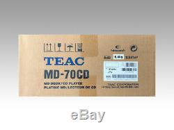 TEAC MD-70CD-S CD Player/MD Recorder Mini Disc / CD Combination Deck from Japan