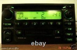 TOYOTA JBL Radio Stereo Tape Cassette CD Player 16815 Factory OEM AM FM