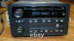 UNLOCKED 2003-07 GMC SIERRA & YUKON Hummer H2 CD PLAYER RADIO Plug & Play