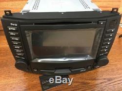 UNLOCKED OEM 03-07 Cadillac CTS DVD 6 CD Disc Player GPS Navigation Radio Nav