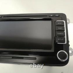 VW Sharan Tiguan Golf Passat Touran Polo RNS510 Genuine Sat Nav Radio CD Player