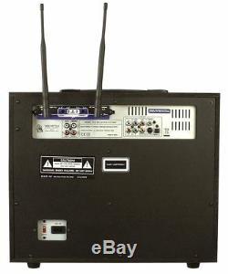 Vocopro DVD SOUNDMAN CD-G Player Karaoke Machine System/2 Mics, 4 Channel Mixer