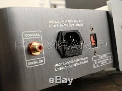 YAQIN SD-33A 2 x 6N8P Hi-End Top Loading Valve Vacuum Tube CD Player 120v-240V